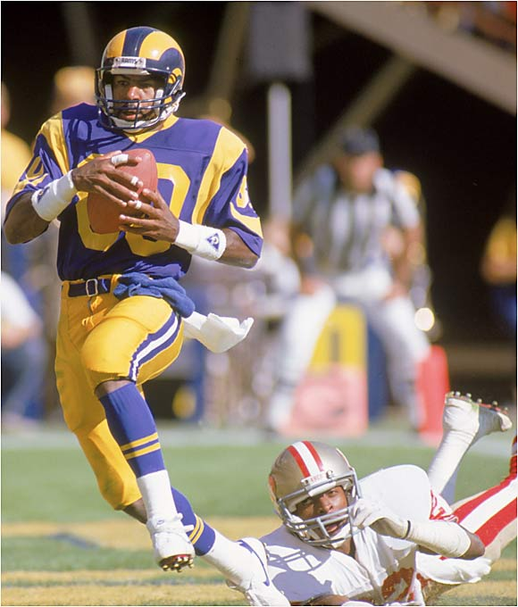 Ellard consistently put up big numbers for the Rams and the Redskins but wasn't recognized as an elite receiver. He ranks fifth all-time in receiving yards (13,777) yet earned only three trips to the Pro Bowl during his 17-year career.