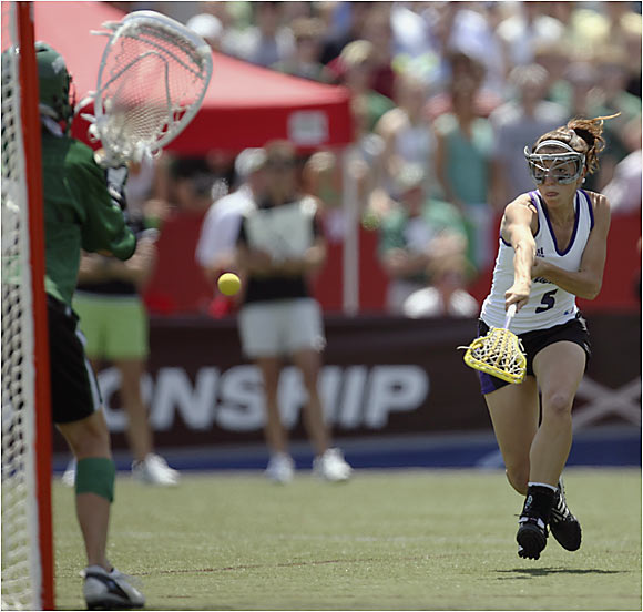 Aly Josephs torched Dartmouth for four goals as Northwestern won its second consecutive national championship.