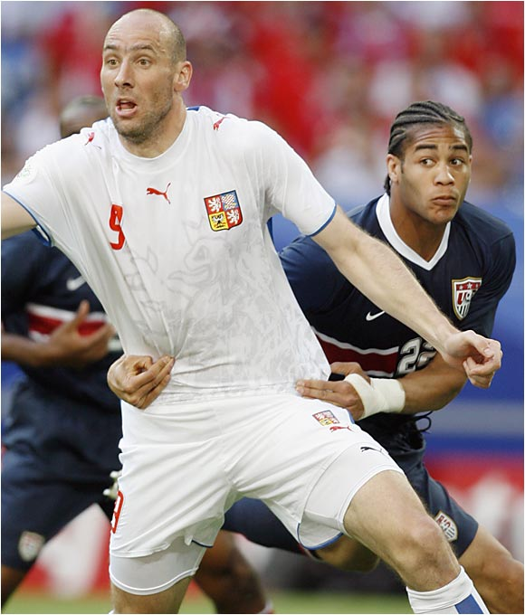 Oguchi Onyewu has been with the U.S. national team for less than two years, but he may not have a long World Cup trip if the U.S. doesn't turn things around.