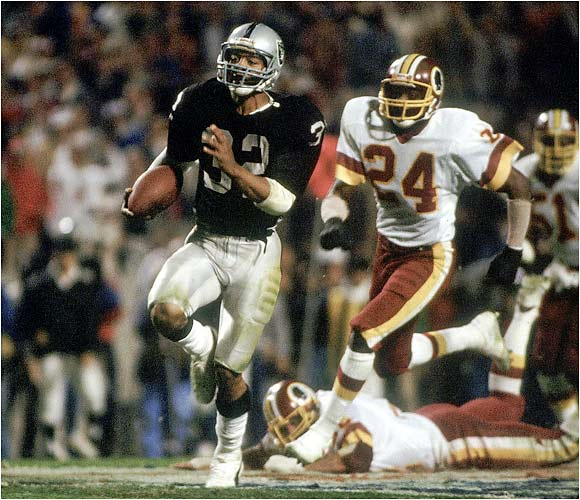 With a nose for the first-down marker and the end zone, this Heisman winner and Super Bowl MVP made it look effortless.