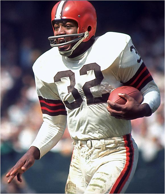 Was there ever a doubt? He might be the best to ever wear any uniform in any sport, let alone football. And you gotta love his part in `The Dirty Dozen.'
