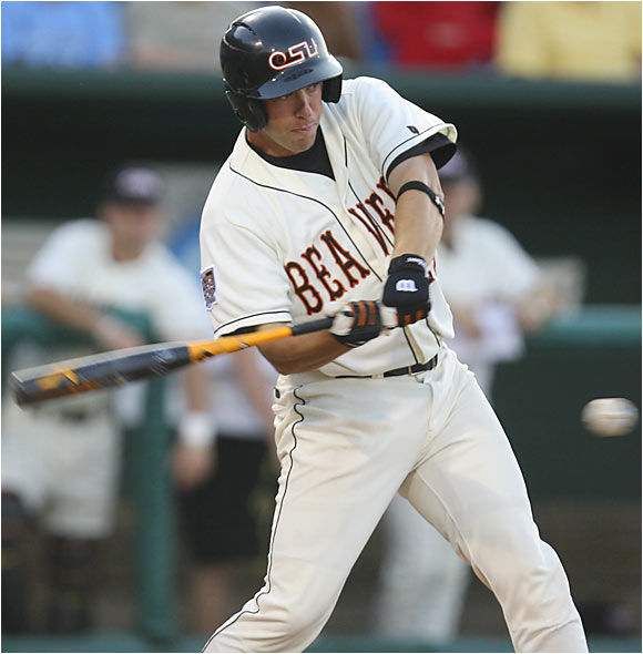 The Beavers (50-16) became the first team in CWS history to lose twice in Omaha and still win the national title.