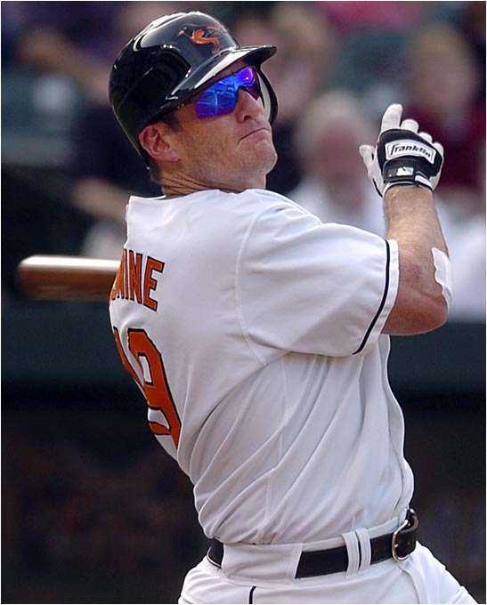 He only had 111 at-bats for the Royals before being taken by Florida in the 1993 expansion draft. Conine has come to be known as Mr. Marlin in South Florida for the role he played in helping the franchise win two World Series titles, and now he's back with the Orioles.