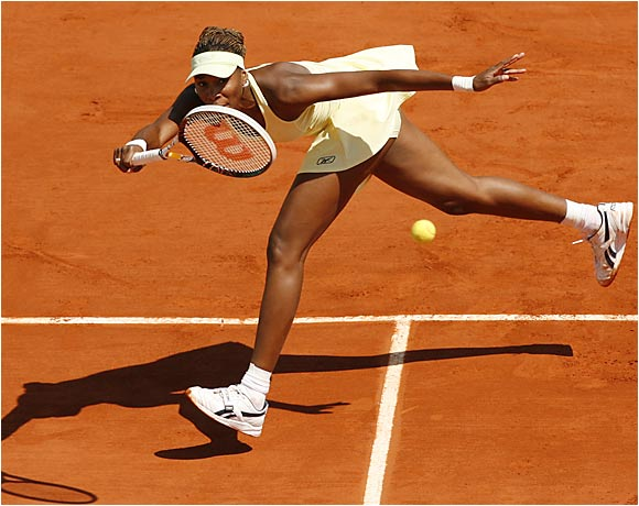 Venus Williams, the lone U.S. player to reach the second week of the French Open, lost in the quarters to 17-year-old Nicole Vaidisova.