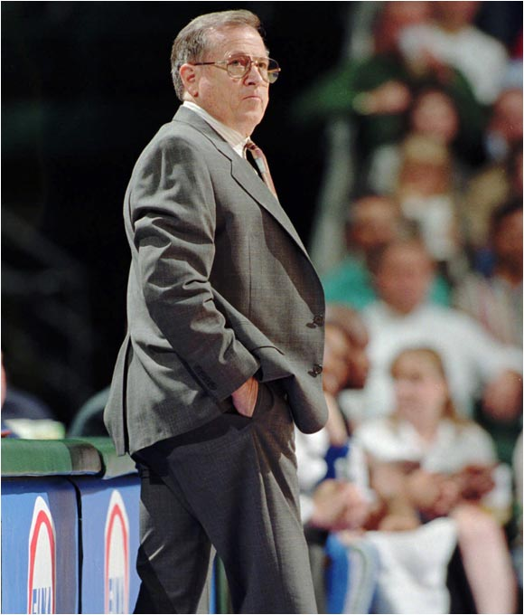 The Mavericks paid a $12 million entry fee to join the NBA for the 1980-81 season and hired Dick Motta as their first coach. In an ominous start, their first-ever draft pick, UCLA forward Kiki Vandeweghe, refused to play and staged a holdout that lasted a month. He was eventually traded to Denver for two future draft choices (Rolando Blackman and Sam Perkins).