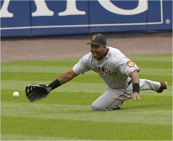 The Giants turned to Pedro Feliz to pick up the slack for a homerless Barry Bonds whose RBI single in the 12th inning gave the Giants a 7-6 victory over the Mets.