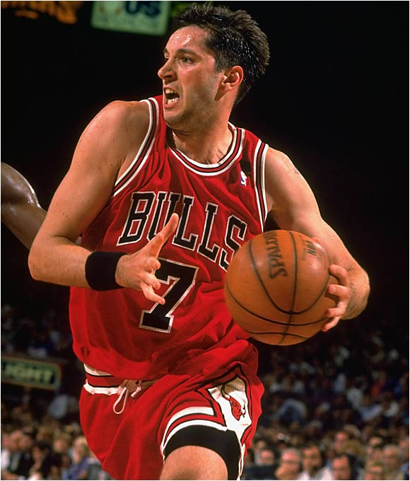 He was the object of Chicago GM Jerry Krause's affection for years before coming over for the 1993-94 season. Thrown into the fire on a Bulls team still reeling from the unexpected retirement of Michael Jordan, Kukoc overcame language difficulties and a position change (from guard to forward) to contribute mightily to a 54-win Chicago squad. Though he was a reluctant bench performer, Kukoc won the Sixth Man Award in 1996 and was a key member of three championship teams in Chicago from 1996 to '98. Kukoc has averaged 11.6 points, 4.2 rebounds and 3.7 assists in 26.3 minutes a game over the course of his 13-year career.