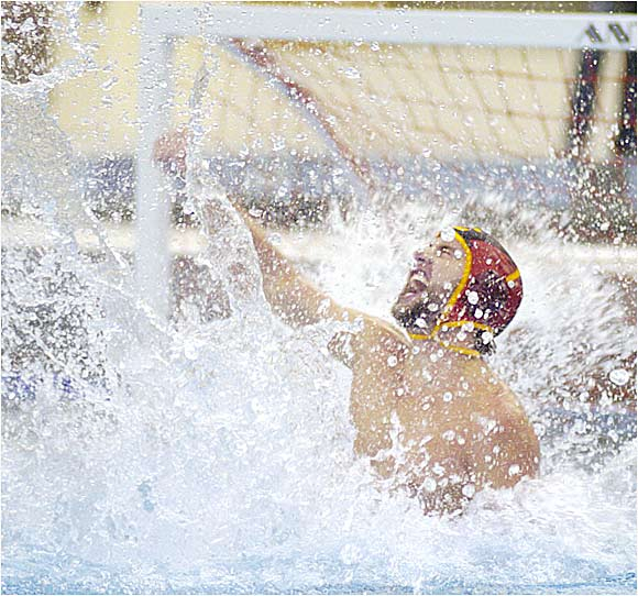 Justin McCain (left) and USC knocked off rival Stanford to grab the championship. The Trojans, who finished the season with a school-best 26-1 record and 19-game winning streak, were led by senior Juraj Zatovic, who scored in every game of the season except the final.