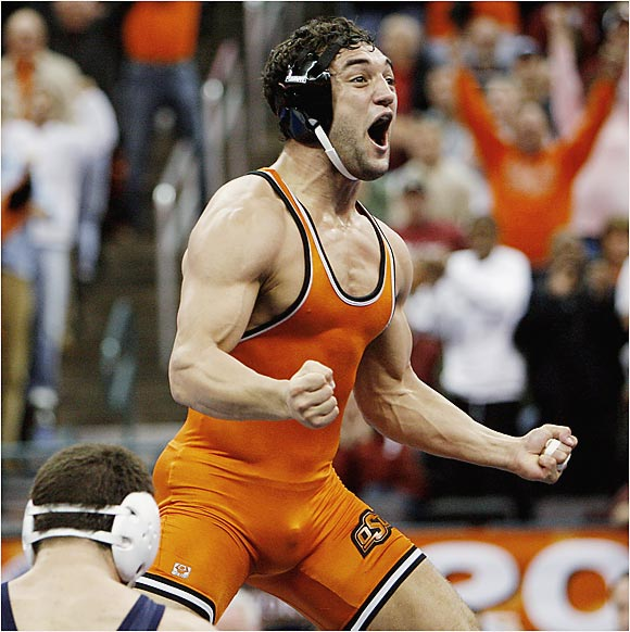 Johny Hendricks and the Cowboys won their fourth straight and 34th overall wrestling championship.