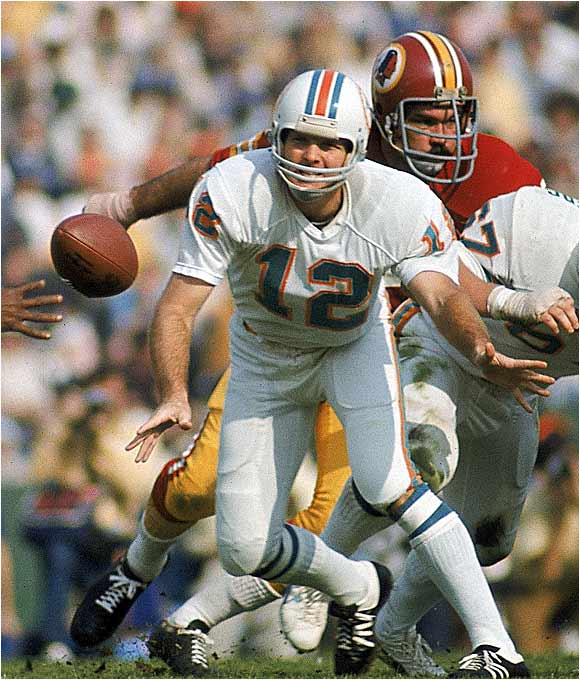 You can't win two Super Bowls and be an integral part of the only perfect team in NFL history without doing a lot right. Griese was Mr. Cool in leading the Dolphins' cold-hearted attack.