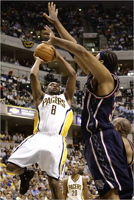 "Johnson, a former backup to Jason Kidd in New Jersey, almost single-handedly beat the Nets with his scoring outburst. But it wasn't enough, as the Nets won 96-90 to close out the series. ''It would be great if it was in a winning performance,"" Johnson said after the game. ""I've never shot that much in my life, and I've never scored that much in my life. I had it going.''"