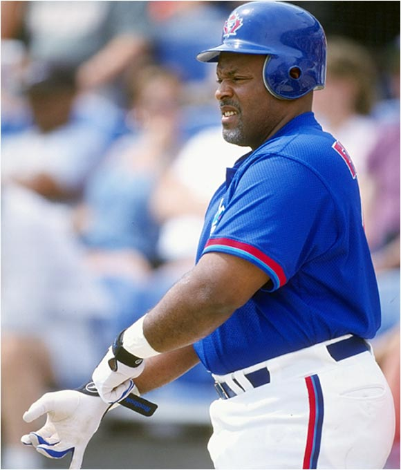 "The living definition of heavy hitter at 6' 3"" and 260 pounds, Fielder was Detroit's Big Daddy, cracking 51 homers for the Tigers in 1990. He began his career on Toronto's bench and spent the 1989 season in Japan, where he was received with much affection. Back in the states, Fielder exceeded 30 HR and 117 RBI four seasons in a row and was an imposing presence on the Yankees' 1996 World Series championship team."