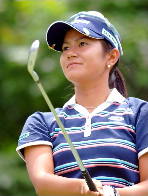 A dynamic player who won six times in Japan last year, she earned her U.S. LPGA Tour card by winning Q-school by a record 12 shots. Lost final-round leads in consecutive weeks, but has adjusted quickly to American golf and could be a factor at Newport. Long, fluid swing and a beautiful putter. Gave herself a chance at the LPGA Championship, but didn't show much gas at the end.