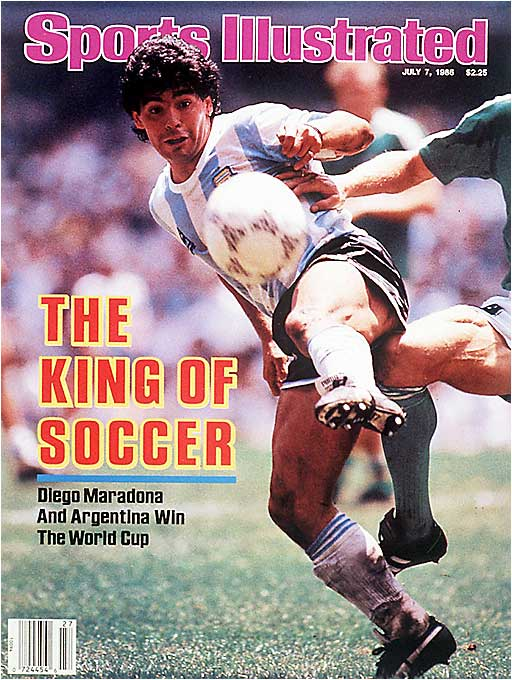 "Argentina won its second title on the back of megastar Diego Maradona, whose infamous ""Hand of God"" goal against England in the quarterfinals would live in Cup lore forever."