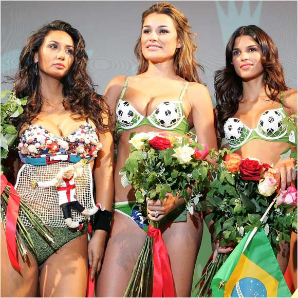The trio participated in a recent fashion show that celebrated the opening of the World Cup.