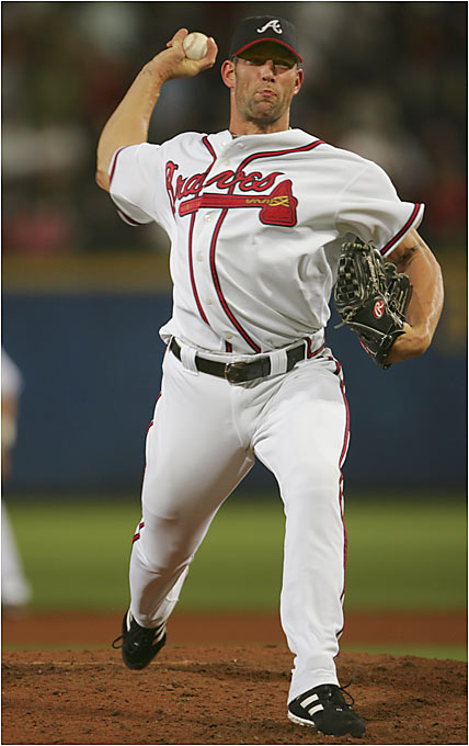 Seemingly always in need of bullpen help, the Braves found it when they acquired Farnsworth from the Tigers. He saved 10 games for Atlanta, which won its 14th consecutive division title.