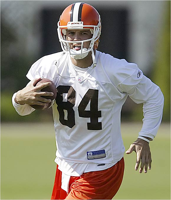 After an outstanding season in Seattle last year, he has emerged in offseason workouts as the Browns' No. 1 receiver. He had a career-high 55 catches for 694 yards with 10 touchdowns for the Seahawks in 2005. Depending on how quarterback Charlie Frye plays, Jurevicius could make the Pro Bowl this season.