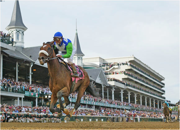 Barbaro, going off at 6:1 odds, won the Kentucky Derby by six-and-a-half lengths, the biggest margin of victory since Assault won by eight lengths in 1946. Assault would go on to win the Triple Crown.