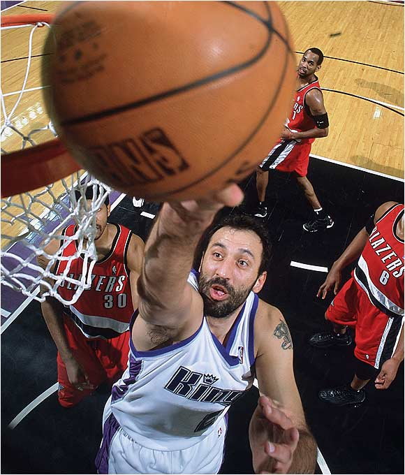 Better players, smarter coaches and a new ownership group combined to turn the Sacramento Kings around -- but it was Divac who held everything together at century's end. His locker-room guidance helped convince a dubious and distressed Chris Webber to stay in the California capital, and Vlade's on-court derring-do set the tone as the Kings vaulted out of the lottery and into championship contention.