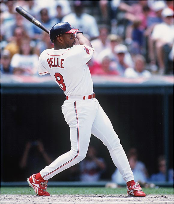 "To some, Albert Belle was an easily unlikable figure, earning jeers for being in rehab, chasing down delinquent trick-or-treaters with his car and going after fans in the stands. He also famously corked his bat. Belle was caught with a corked bat in 1994, but the problem, according to former teammate Omar Vizquel, was worse than that. Quoth Vizquel in his autobiography: ""...all of Albert's bats were corked."""