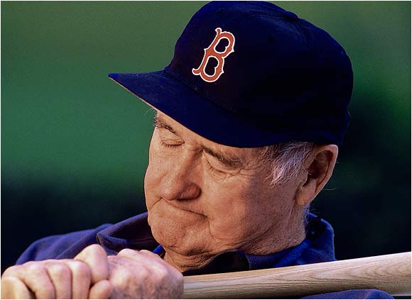 Ted Williams photographed in Hernando, Fla., on Oct. 7, 1996.