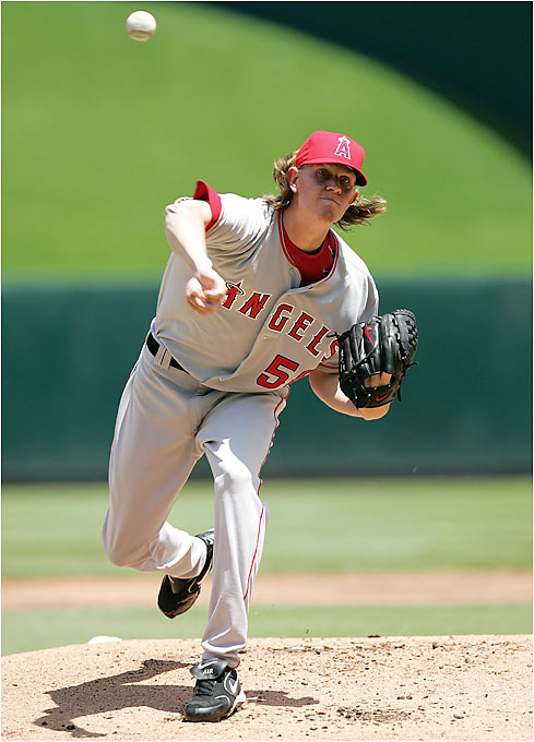 Jered Weaver became the first pitcher to win his first seven starts since Fernando Valenzuela won his first eight in 1981. Weaver, a 6-foot-7 right-hander and the No. 12 pick of the 2004 draft, has an ERA of 1.15 over 47 innings.