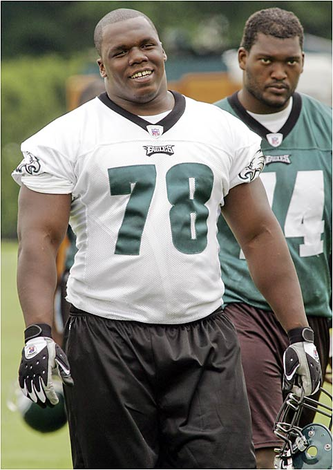 Philly needs a presence in the middle of its defensive line immediately, which means the No. 14 overall pick of the 2006 draft will have to pick up coordinator Jim Johnson's defense in a hurry. The Eagles drafted Bunkley because of his ability to the pressure the quarterback from the tackle spot, but he'll also have to help strengthen a weak run defense.