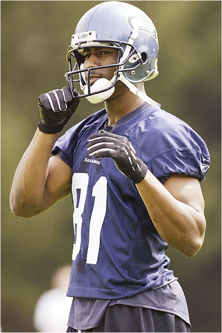 He appeared to be headed toward stardom after the 2004 season, but injuries limited him to only nine starts last year with the Vikings. Seattle hopes his speed and knack for gaining yards after the catch will help make up for the loss of Joe Jurevicius to free agency.