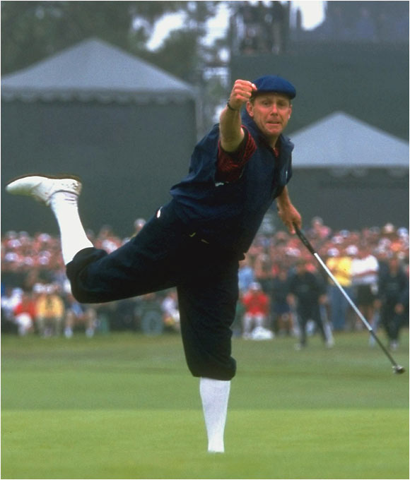 Payne Stewart wins the 1999 U.S. Open.