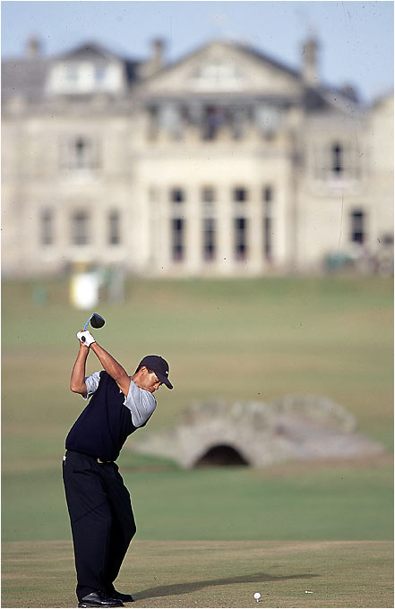 Not only would Tiger win at St. Andrews, he also broke his own record for best overall performance in a major (19-under) while becoming one of three British Open champions to shoot all four rounds in the 60s.