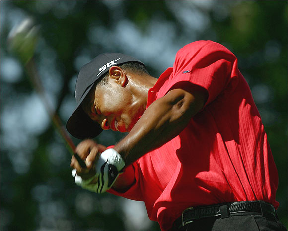 Tiger Woods has won all 12 major championships in which he had at least a share of the lead after 54 holes.