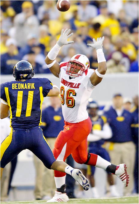Everyone knows the Cardinals' offense will be scary, but will the defense put pressure on opposing QBs? Anderson, a former juco transfer, takes over for national sack leader Elvis Dumervill.