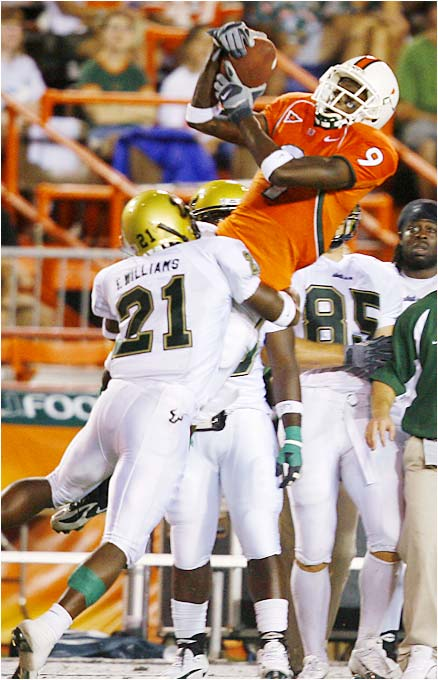 After a promising freshman season, Leggett struggled mightily last year, catching only 15 passes. With top receiver Ryan Moore suspended for the first two games, Miami needs Leggett to become a factor.