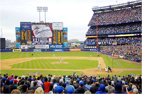 Did John Rocker have a vote in this survey? The constant roar from airplanes heading in and out of LaGuardia can be a distraction, as can the baseball-crazed fans who have been waiting 20 years for another World Series winner.