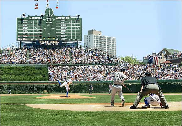 The friendly confines can be a harrowing experience for pitchers, whose fates are at the mercy of the city's blustery winds. It doesn't help that most big leaguers don't enjoy playing day games after a night out on the town.