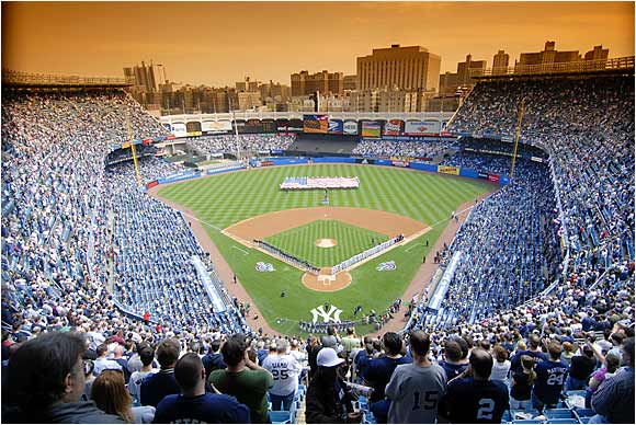 Among the 392 current major league players surveyed, 83 (21.2 percent) voted Yankee Stadium as the most difficult place to play as a visiting player. The numbers back them up: Since Joe Torre took over as manager in 1996 through 2005, the Yankees are 513-292 (.637) at home in the Bronx, where the fans are close to the field and into the action.