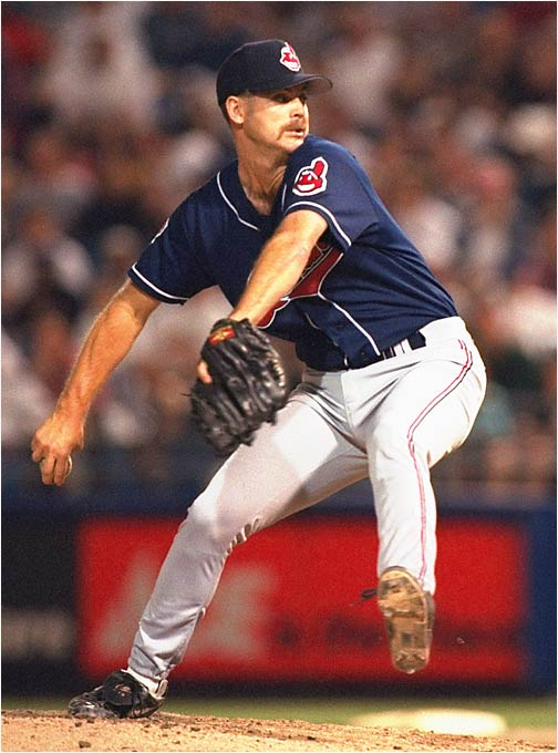 Olson, shown here with the 1995 Indians, was a key factor in the Orioles' amazing turnaround in 1989. The year before, Baltimore had finished 54-107 after starting the season 0-21. Olson became the workhorse out of the bullpen, saving 27 games and logging an impressive 85 innings with an ERA of 1.69. The Orioles won 87 games, just two fewer than first-place Toronto.