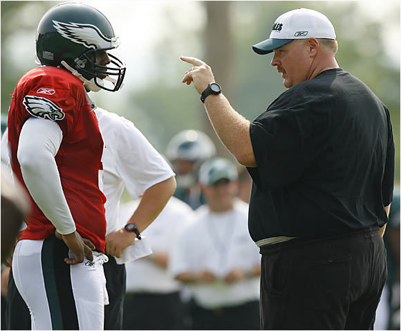 Eagles coach Andy Reid hopes to have a more enjoyable season this year without T.O. in the mix.
