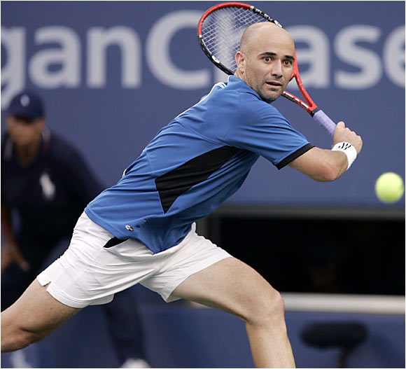 He didn't win, but he still managed to hijack the event. At age 35, Agassi worked over six younger opponents -- including James Blake in a five-set quarterfinal classic -- and even landed some body blows against Roger Federer in the final.