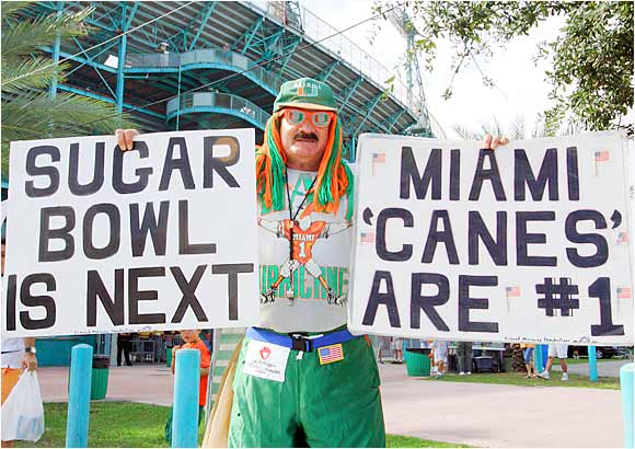 This Hurricanes fan can't wait for the Sugar Bowl.