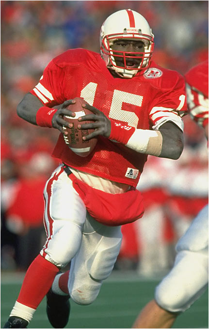 Best season: Won national title in 1995<br><br>'95 passing stats: 92 of 163 (56.4 percent), 1,362 yards, 17 TDs, 4 INTs<br><br>'95 rushing stats: 97 carries, 604 yards, 14 TDs<br><br>In the B.V. era -- before Vince -- Frazier was the gold standard for running QBs. He led the Huskers' option offense to back-to-back national titles in 1994 and '95, and although he was only an average passer, his TD-to-INT ratio in his final season was a stellar 4.25 to 1.
