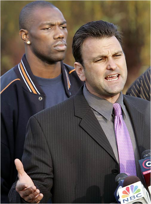 """The Drew Rosenhaus press conference with Terrell Owens. Enough said."" -- Lawrence Norris, Scottdale"