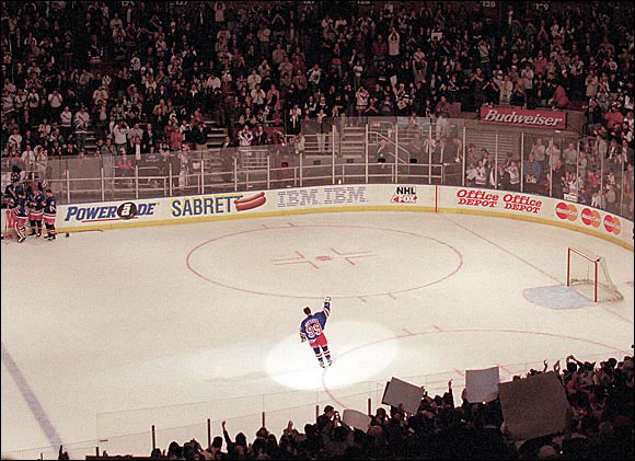 Gretzky, the only player in NHL history to have his jersey number retired by all teams, called it a career after 21 seasons and 61 NHL records. During his final game, in which he recorded an assist, he was awarded both the first, second and third star of the game.