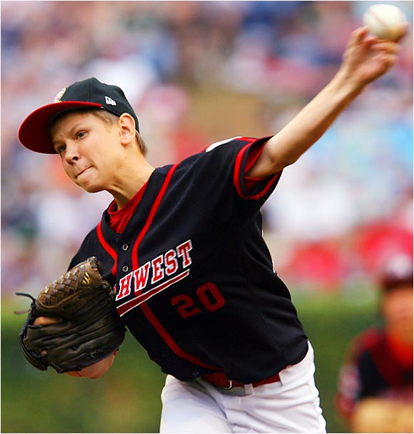 Beaverton, Ore., pitcher Jace Fry and his teammates were unable to defeat Columbus, Ga., during the U.S. championship game on Saturday.