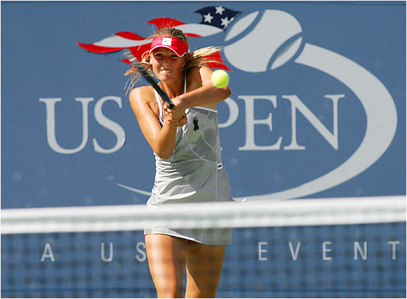 Maybe it was too much hype. Whatever the case, Sharapova couldn't replicate her breakout success in her second appearance in Queens, the '04 U.S. Open. After seizing an early lead, she was upset by 27th seed Mary Pierce in the third round.