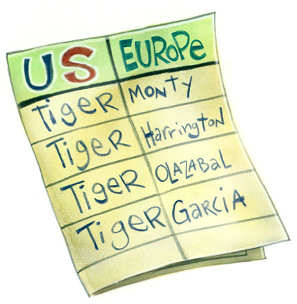 All Tiger, all the time.