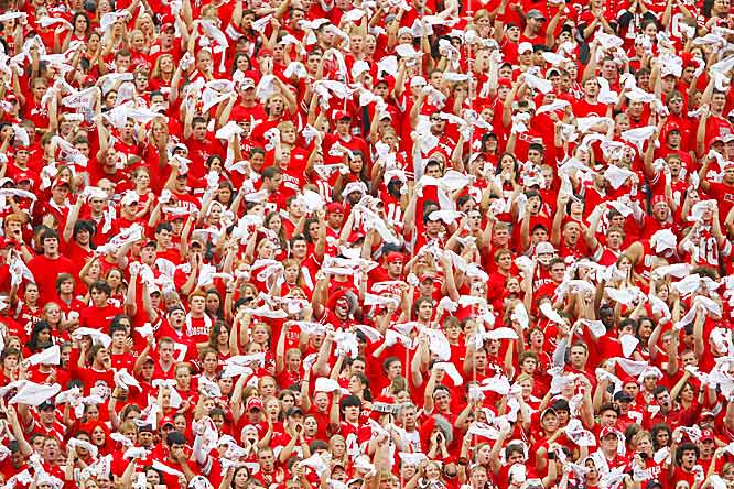 Over 100,000 fans showed up to Ohio Stadium to see the Buckeys battle the Nittany Lions, and judging from all the red shirts, the crowd went home happy.