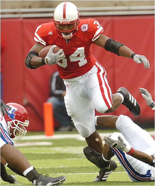 Cody Glenn ran for 88 yards and a touchdown as the Cornhuskers torched Louisiana Tech for 584 total yards.