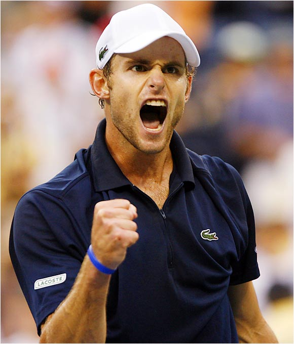 2003 U.S. Open winner Andy Roddick has played with renewed confidence since being coached by Jimmy Connors.