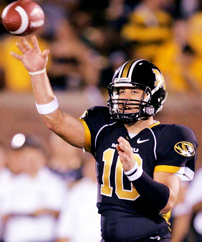 When Missouri lost dynamic four-year starter Brad Smith, the offense was supposed to sputter. But sophomore Chase Daniel has carried Missouri to a surprising 4-0 start, throwing for 1,020 yards and nine touchdowns (to two interceptions) and running for 100 yards and three scores.